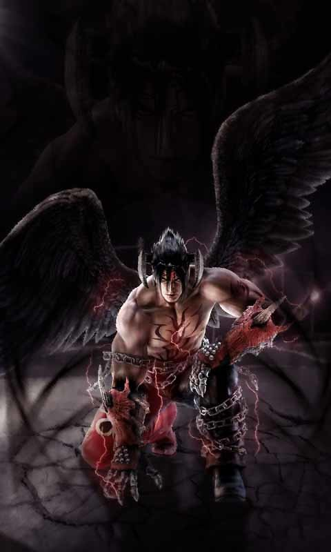 Cool Devil Jin Kazama Live Wallpaper Free Android Live Wallpaper
