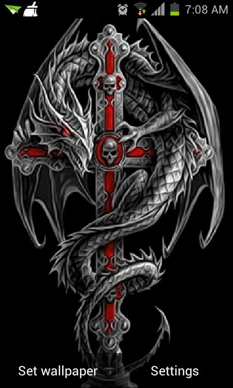 Dragon Cross Live Wallpaper
