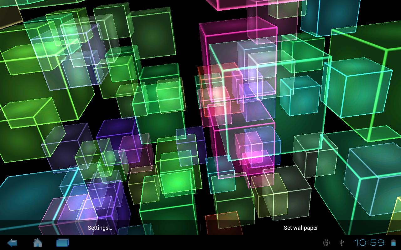 Cube Complex Live Wallpaper Free Android Live Wallpaper Download