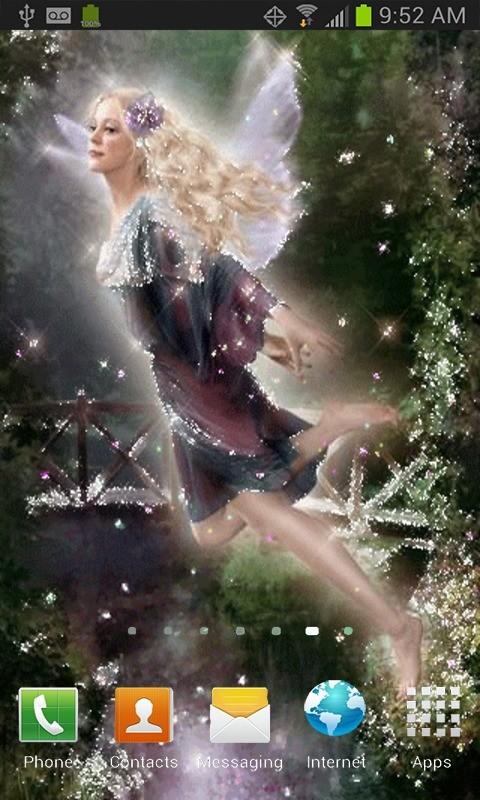 Sparkle Fairy Live Wallpaper