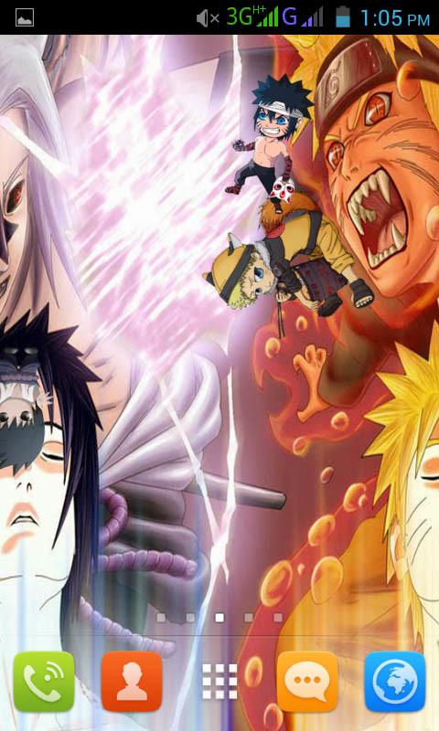 Naruto Sasuke Live Wallpaper Best