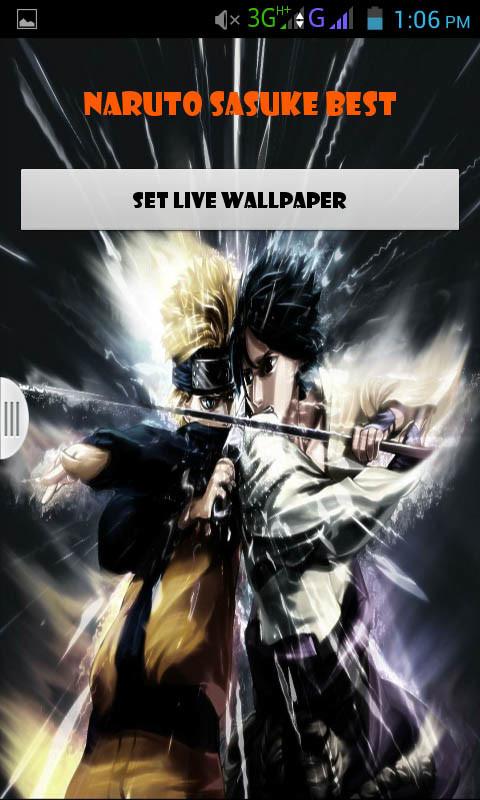 Naruto Sasuke Live Wallpaper Best Free Android Live ...