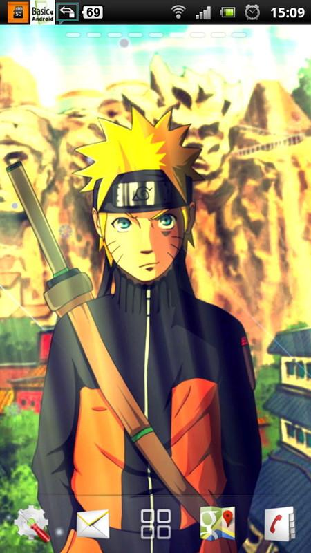 Naruto Live Wallpaper 3 Free Android