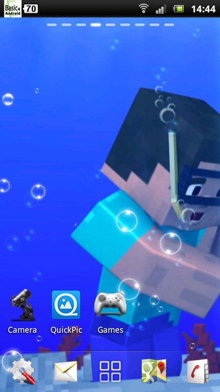 minecraft live wallpaper 2 free android live wallpaper