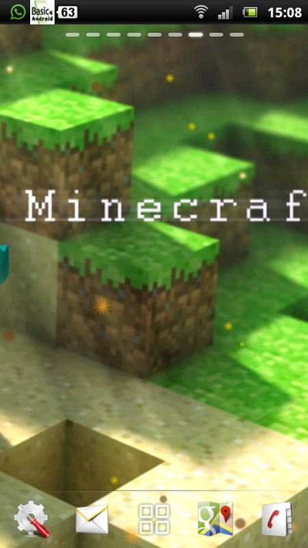 minecraft live wallpaper 4 free android live wallpaper