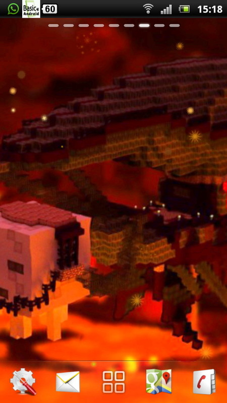 minecraft live wallpaper 5 free android live wallpaper