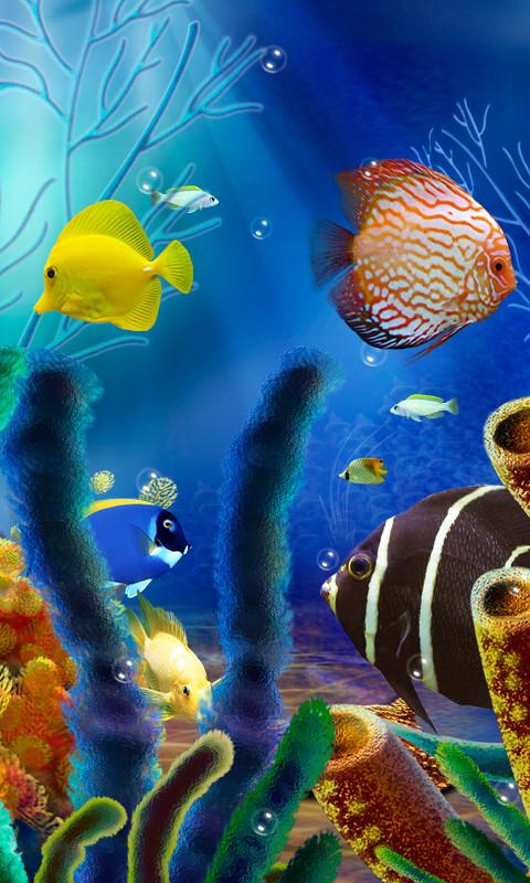 Aquarium Fish Live Wallpaper Free Android Live Wallpaper ...