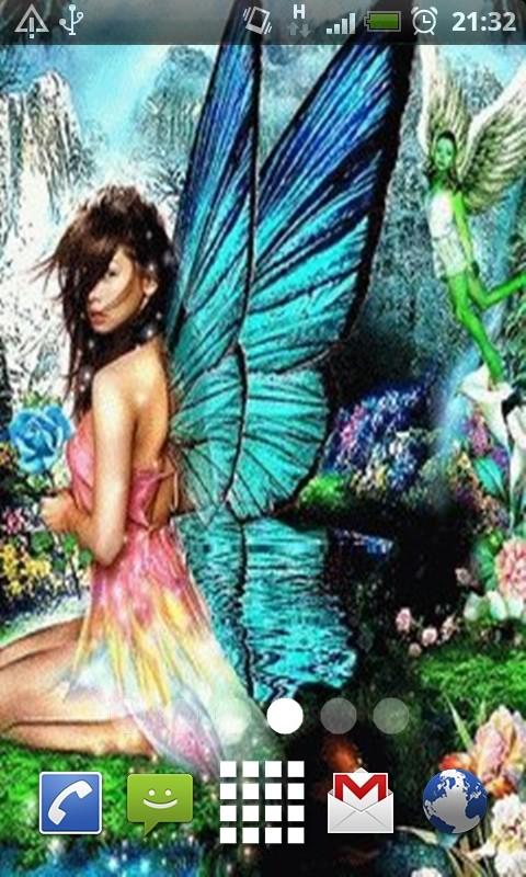 Angel Fairy Live Wallpaper
