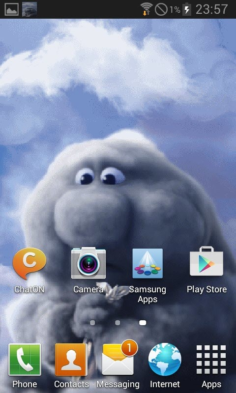 funny cloud live wallpaper free android live wallpaper