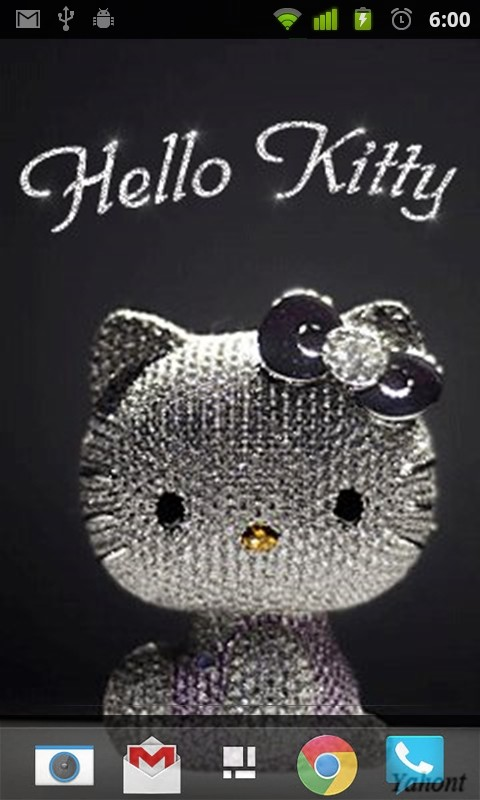Glitter Hello Kitty Live Wallpaper Free Android Live