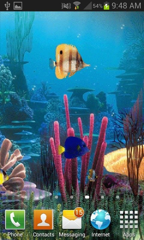 Fish Tank Live Wallpaper Free Android