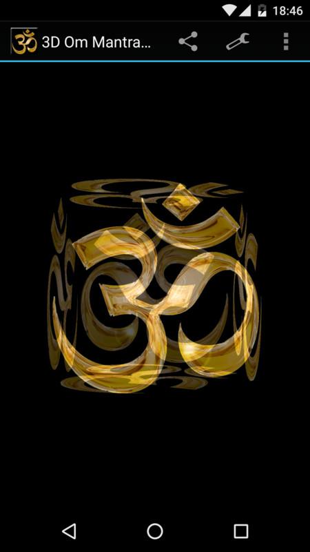 3d Om Mantra Live Wallpaper Free Android Live Wallpaper Download
