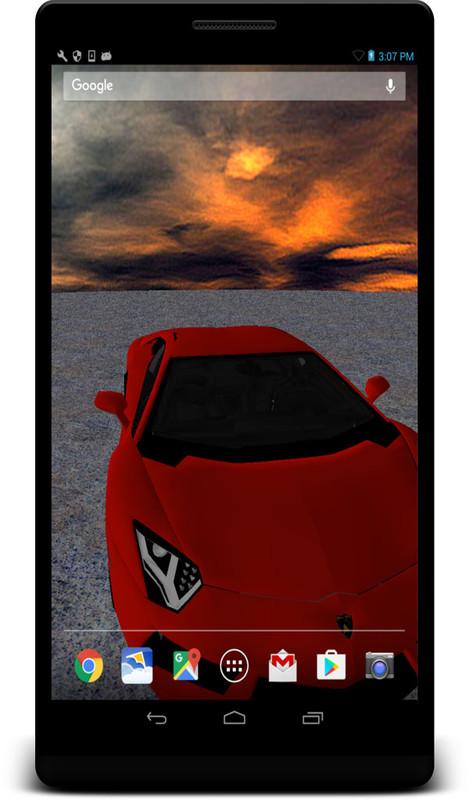 3D Lamborghini Live Wallpaper