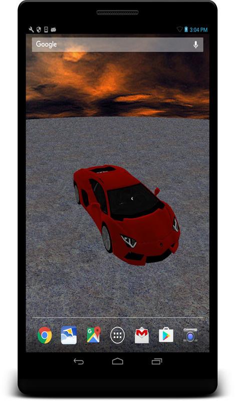 3d Lamborghini Live Wallpaper Free Android Live Wallpaper Download