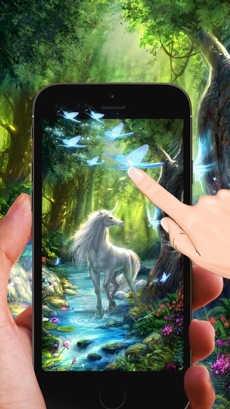 Fairy Unicorn Live Wallpaper