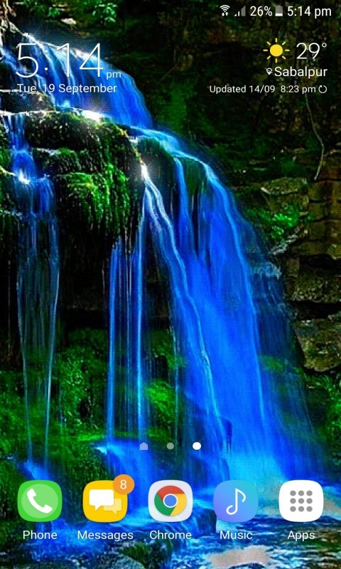 Wavy Waterfall Live Wallpaper Free Android Live Wallpaper