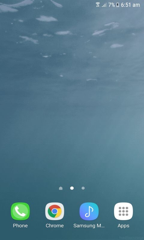 Live wallpaper android free underwater
