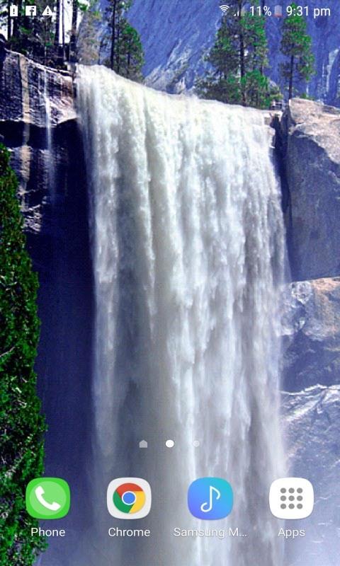 Winter Waterfall Live Wallpaper Winter Waterfall Live Wallpaper