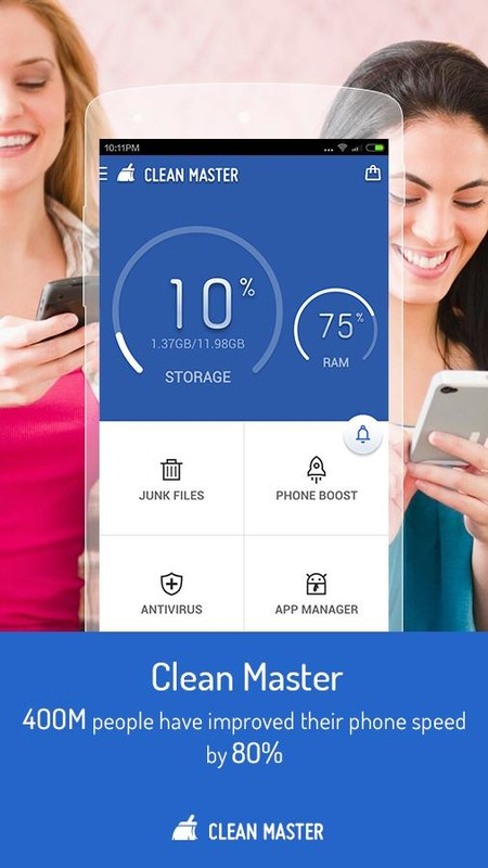 Clean Master (Speed Booster) for BackBerry 10 & PlayBook - Download