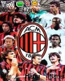 AC Milan Nokia mobile phone theme
