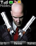 Hitman theme for Nokia mobile phone