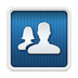 FriendCaster Pro for Facebook App Icon