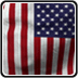 American Flag Livewallpaper Free App Icon