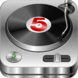 DJ Studio 5 - Free music mixer App Icon