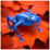Blue Or Ping Frog Free Icon