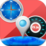GPS Map Search Compass & Track Icon