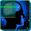 Fingerprint Brain Scanner Icon