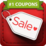 Shopular Coupons, Black Friday Icon