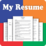 My Resume Builder,CV Free Jobs Icon