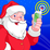 Santa's Magic Phone Call &Text Icon