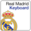 Real Madrid Keyboard Icon