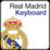 Real Madrid Keyboard Icon