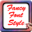 Fancy Font Style Icon