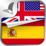 Learn SPANISH Free Language Audio App Icon