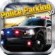 3D Police Car Parking App Icon