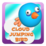 Cloud Jumping Bird Icon