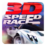 3D Speed Race Icon