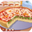 Chicago Deep Dish Pizza Icon