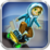 Bouncy Skater Gold Icon
