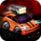 Army Car Drag Racing Gold Icon