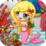 Christmas Mermaid Icon