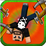 Kick the Pixel Bully 3D Icon