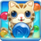 Bubble Cat Rescue Icon
