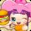 Cute Burger Icon