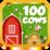100 Cows Icon