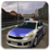 Traffic Police Car Driving 3D Icon